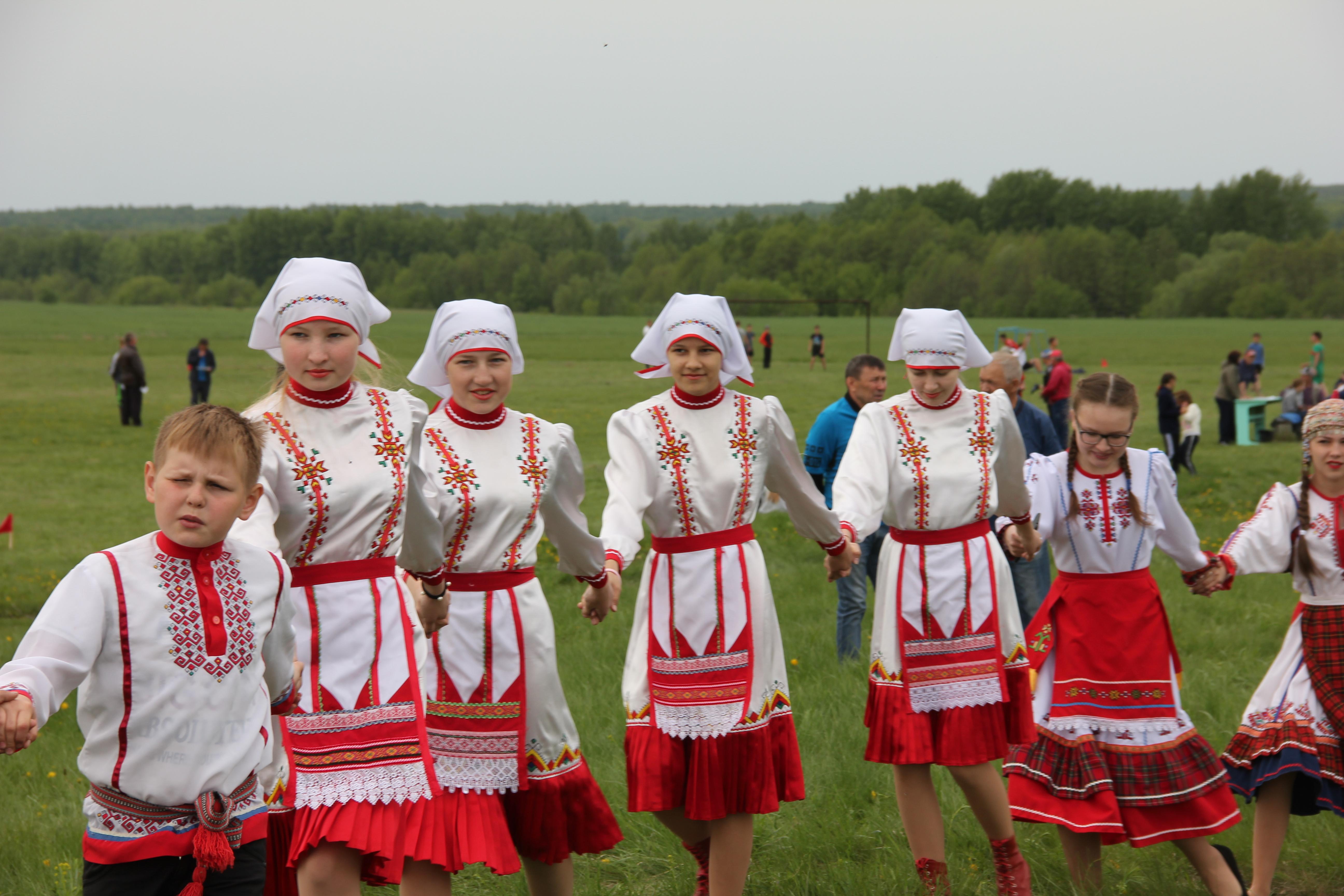 Состоялся традиционный детский фольклорный праздник «Уяв»