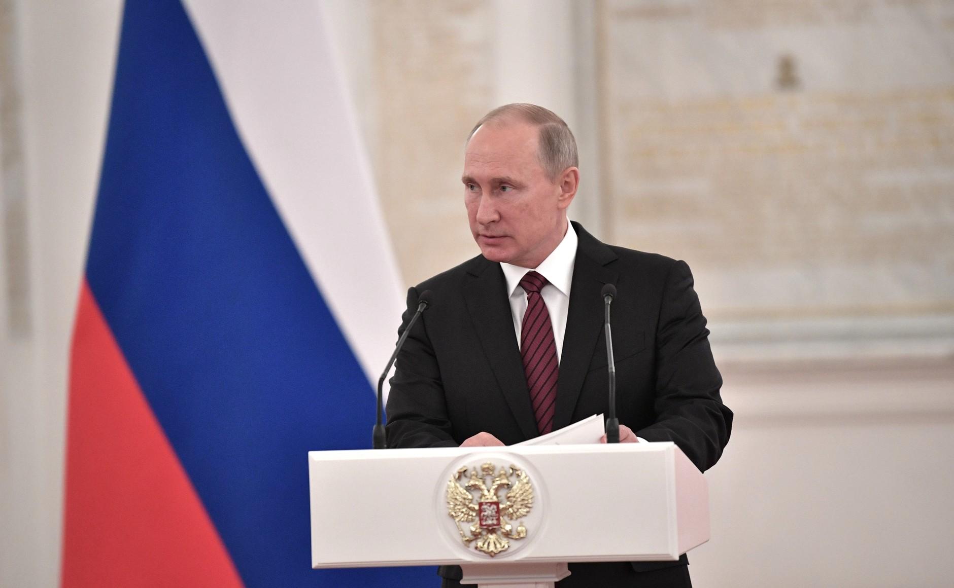 Путин утвердил порядок принесения присяги при вступлении вгражданство РФ