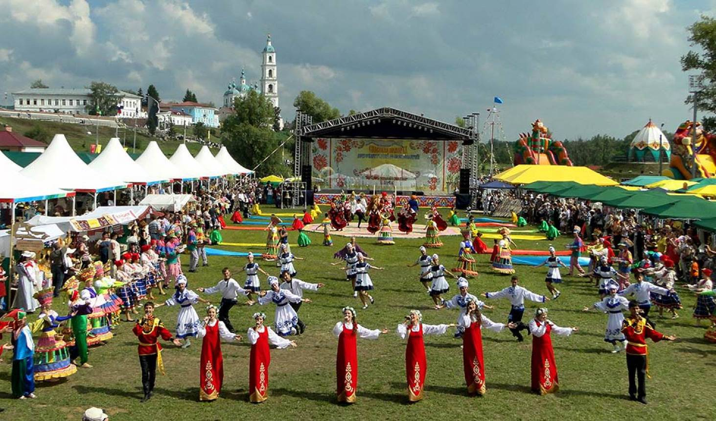 Сегодня вЕлабуге стартует XВсероссийская Спасская ярмарка