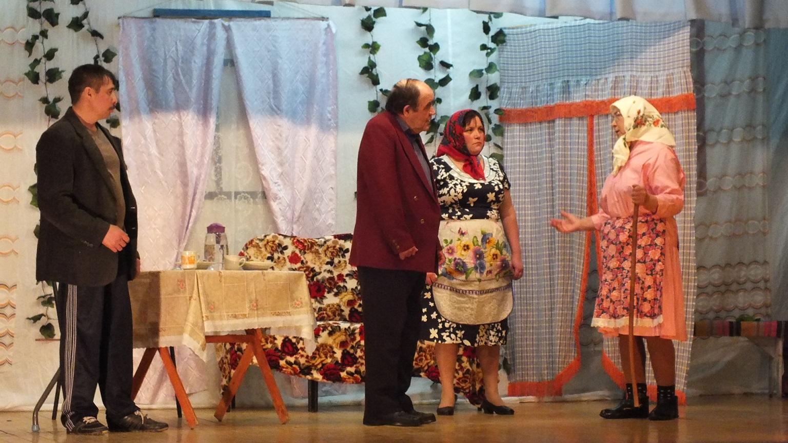 «Стюхаль» - чувашский народный театр села Стюхино